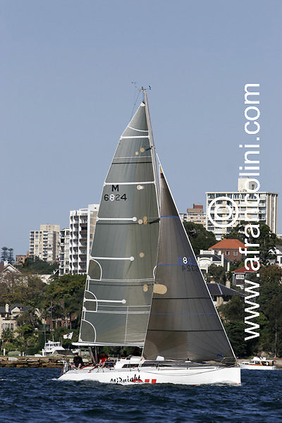 SAILING - BMW Winter Series 2005 - MIDNIGHT OIL - Sydney (AUS) - 29/05/05 - ph. Andrea Francolini