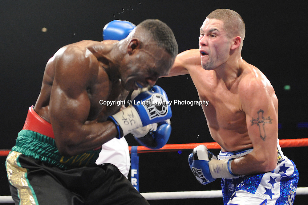 "Tony Bellew defeats Ovill McKenzie at the Echo Arena, Liverpool,11th December 2010,Frank Warren.tv Promotions ""Return Of The Magnificent Seven"" © Photo Leigh Dawney"