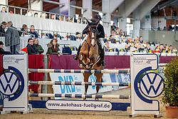 GAMMERSBACH Kira (GER), ULTIMATE Z<br /> Neustadt-Dosse - 20. CSI Neustadt-Dosse 2020<br /> Preis der R+V Versicherungsagentur A. Kuschel<br /> Gold Amateurs<br /> Int. Zwei-Phasen-Springprüfung<br /> 11. Januar 2020<br /> © www.sportfotos-lafrentz.de/Stefan Lafrentz