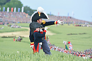 Reconstitution Battle of Waterloo during the Bicentennial