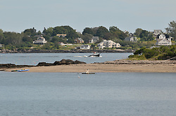 Bailey's Island, view from the Greeley Cottage, Potts Point, South Harpswell, Maine