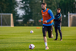 during practice session of Slovenian national football team, on October 8, 2018 in National Football Center Brdo, Kranj, Slovenia. Photo by Urban Meglic / Sportida
