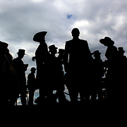 Images of Royal Ascot...Royal Ascot,  one of the most famous race meetings in the world is a reflection of English society and it's class system. The race meeting is frequented by Royalty and members of the upper class along with ordinary punters. It's strict dress code insist men dress in top hat and tails in selected areas of the course as it continues a centuries old tradition. The  Queen arrive at Royal Ascot, UK, on Saturday, June 20, 2009. Photo Tim Clayton.
