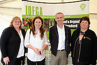 Angela Clarke, IOFGA, Grace Maher, IOFGA, Minister for Horticulture Ciarán Cuffe TD with  Chairperson, IOFGA, Dr. Sinead Neiland at the 2010 Portumna Forest Picnic. The event, which marked the start of National Organic Week, (13th- 19th September) celebrated all that was good about Irish Organic Food production and was officially opened by  Minister for Horticulture Ciarán Cuffe. The sun illuminated the spectacular setting which was the perfect location to host such a great day out. The large crowd was spellbound on the day with the range of activities and events from enchanting storytelling, informative nature walks, organic production talks and cycling trails for the more adventurous! Photo:Andrew Downes