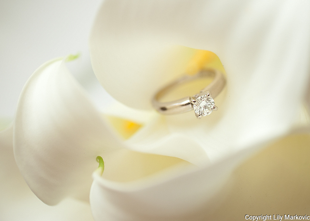 Wedding Ring and Bouquet