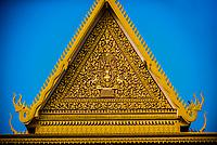 Throne Hall,Royal Palace, Phnom Penh, Cambodia.