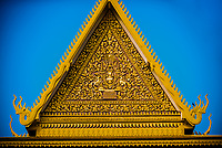 Throne Hall,Royal Palace, Phnom Penh, Cambodia.