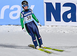 02.12.2016, Lillehammer, NOR, FIS Weltcup Ski Sprung, Lillehammer, Damen, im Bild Jacqueline Seifriedsberger (AUT) // Jacqueline Seifriedsberger of Austria during Womens Skijumping Competition of FIS Skijumping World Cup. Lillehammer, Norway on 2016/12/02. EXPA Pictures © 2016, PhotoCredit: EXPA/ Nisse<br /> <br /> *****ATTENTION - OUT of SWE*****