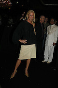Faye tozer,  DENIS SIMACHEV SHOWCASES AUTUMN/WINTER 06 MENSWEAR & WOMENSWEAR COLLECTIONS<br />AT CHELSEA FOOTBALL CLUB. Supported by Vogue Russia<br />11 April 2006. ONE TIME USE ONLY - DO NOT ARCHIVE  © Copyright Photograph by Dafydd Jones 66 Stockwell Park Rd. London SW9 0DA Tel 020 7733 0108 www.dafjones.com