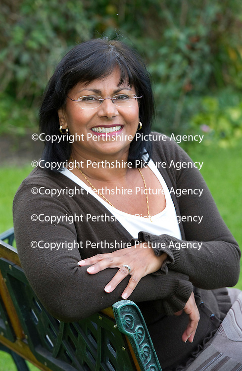 Working mum Farah Adams pictured at her home in Blairgowrie....08.09.11<br /> Picture by Graeme Hart.<br /> Copyright Perthshire Picture Agency<br /> Tel: 01738 623350  Mobile: 07990 594431