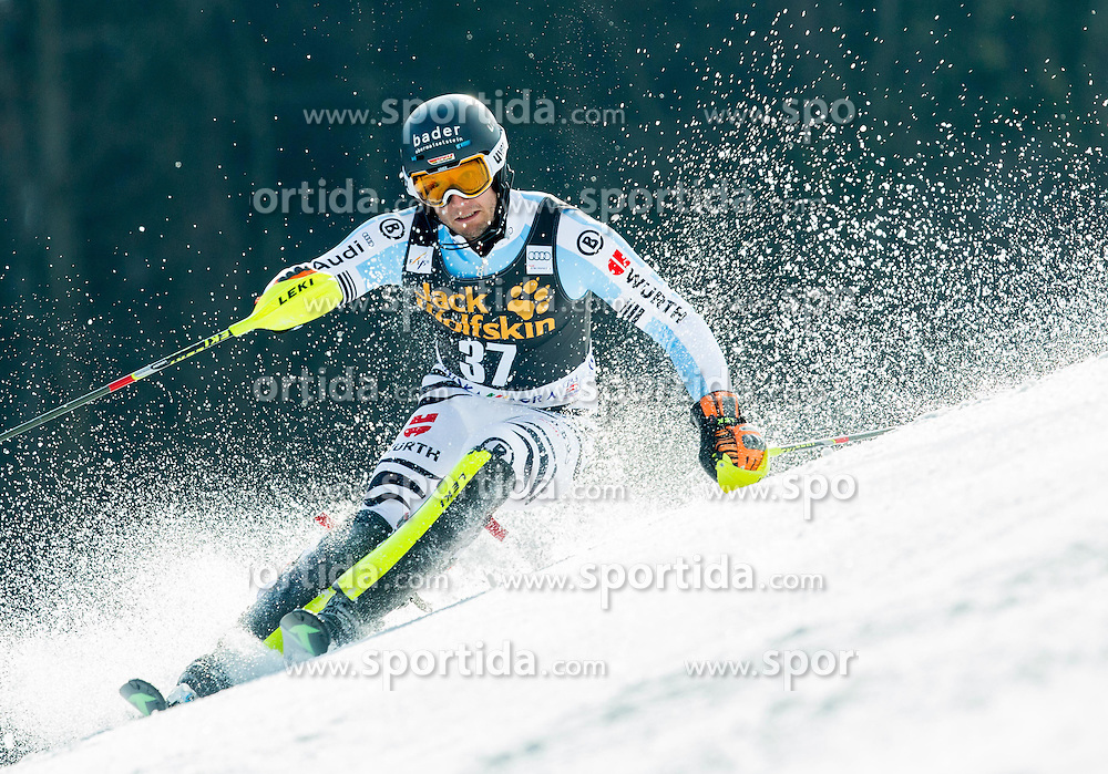 STEHLE Dominik of Germany competes during 1st Run of Men Slalom race of FIS Alpine Ski World Cup 54th Vitranc Cup 2015, on March 15, 2015 in Kranjska Gora, Slovenia. Photo by Vid Ponikvar / Sportida