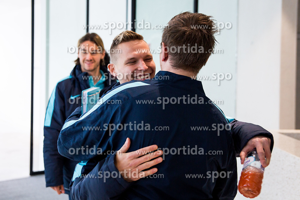 Martin Milec during Training of Slovenian National Football team before friendly matches with Austria and Belarus, on March 19, 2018 in Football National Centre, Brdo pri Kranju, Kranj, Slovenia. Photo by Ziga Zupan / Sportida