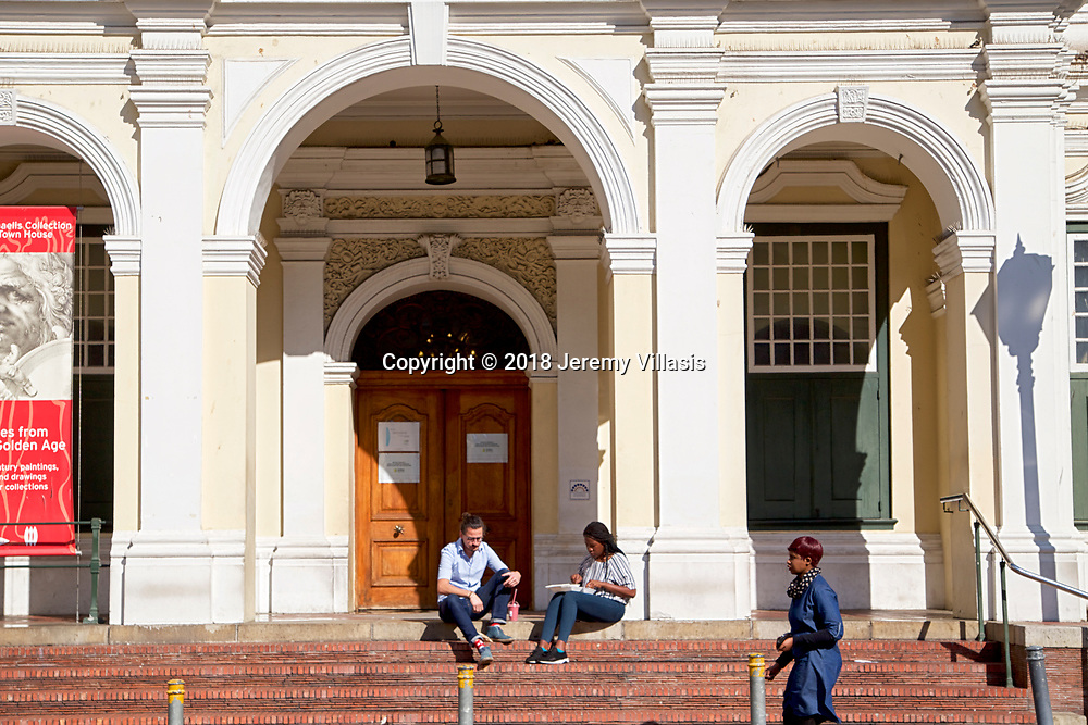 Built in 1755, the Iziko Old Town House Museum along Longmarket Street, is the first public building in Cape Town, South Africa. It is also one of the finest and well known examples of Cape Dutch/Rococo style architecture.