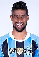 "Brazilian Football League Serie A / <br /> ( Gremio Foot-Ball Porto Alegrense ) - <br /> Leonardo da Silva Moura "" Leo Moura """