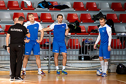 Players of team Slovenia on psychophysical tests at Faculty of Sports before tomorrow's handball match between the national teams of Slovenia and Croatia, on October 17, 2017 in Faculty of Sports, Ljubljana, Slovenia. Photo by Urban Urbanc / Sportida