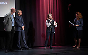 FranceDance UK launch event – a festival bringing top French contemporary dance to nine cities across the UK<br /> At Institut français, London Great Britain <br /> 10th July 2019 <br /> <br /> To mark the launch of FranceDance UK, French dance collective (La) Horde, best known for their collaboration with electro-pop sensation Chris (formerly known as Christine and the Queens) perform at the Institut français. <br /> <br /> LaHorde:<br /> Mathieu Douay, aka Magii'x, <br /> Kevin Martinelli aka MrCovin,<br /> Edgar Scassa aka Edx<br /> <br /> Accompanied by choreographers and founders of LaHorde Marine Brutti <br /> <br /> Dancers for Emanuel Gat Dance:<br /> Thomas Bradley, <br /> Michael Loehr,<br /> Karolina Szymura<br /> + Emanuel Gat<br /> <br /> Photograph by Elliott Franks