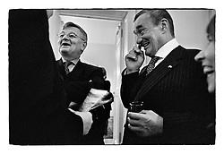 *En_Germany, 2003 Berlin  Meeting with Joska Fischer on the ocassion of President Havel's official visit in Berlin                                       *Cz_Karel Schwarzenberg pri setkani s Joskou Fischerem v Berline pri posledni oficialni navsteve prezidenta Havla v Nemecku