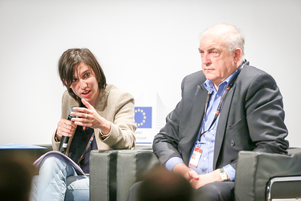 04 June 2015 - Belgium - Brussels - European Development Days - EDD - Citizenship - How can development cooperation effectively fight corruption and promote good governance? - Elly Schlein , Member of the European Parliament © European Union