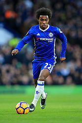 Willian of Chelsea in action - Mandatory by-line: Jason Brown/JMP - 26/12/2016 - FOOTBALL - Stamford Bridge - London, England - Chelsea v Bournemouth - Premier League