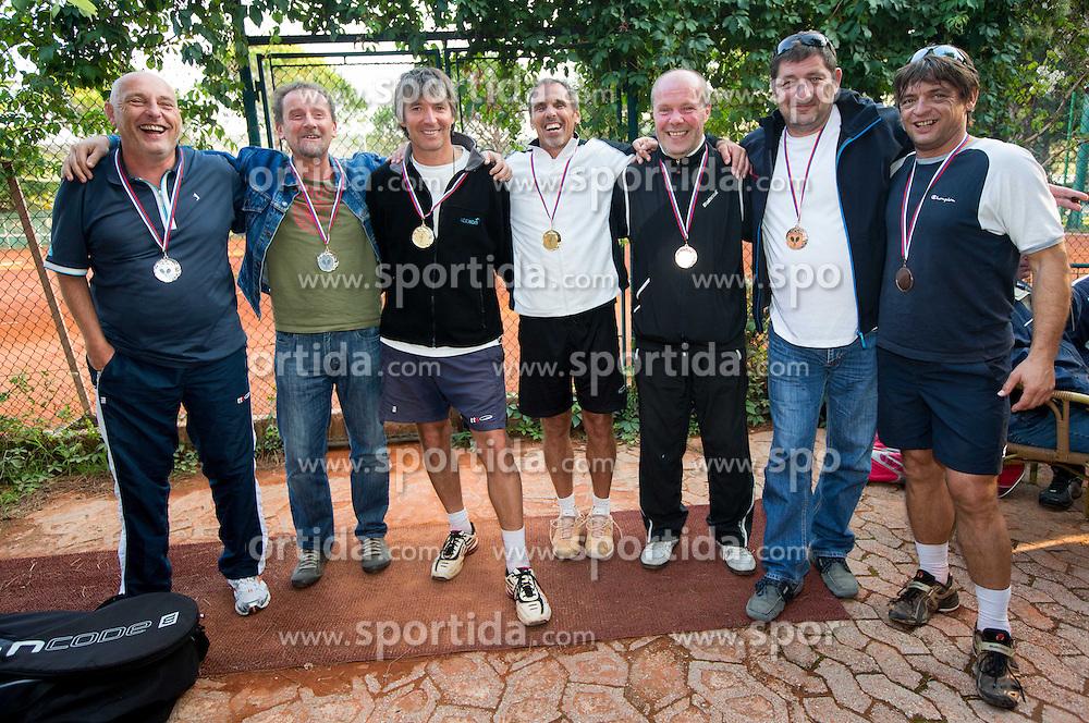 Drzavno prvenstvo Skupine Telekom Slovenije v tenisu v Strunjanu, 23. septembra 2012. (Foto: Vid Ponikvar)