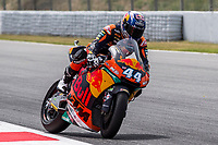 Miguel Oliveira of Portugal and Redbull Ktm Teamrides during free practice for the Moto2 of Catalunya at Circuit de Catalunya on June 9, 2017 in Montmelo, Spain.(ALTERPHOTOS/Rodrigo Jimenez)