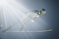30.12.2018, Schattenbergschanze, Oberstdorf, GER, FIS Weltcup Skisprung, Vierschanzentournee, Oberstdorf, 1. Wertungsdurchgang, im Bild Michael Hayboeck (AUT) // Michael Hayboeck of Austria during his 1st Competition Jump for the Four Hills Tournament of FIS Ski Jumping World Cup at the Schattenbergschanze in Oberstdorf, Germany on 2018/12/30. EXPA Pictures © 2018, PhotoCredit: EXPA/ JFK