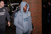Leeds United forward Edward Nketiah (14), on loan from Arsenal, arriving during the EFL Sky Bet Championship match between Sheffield Wednesday and Leeds United at Hillsborough, Sheffield, England on 26 October 2019.
