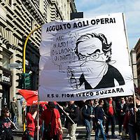 Marchionne alle Manifestazioni Fiom