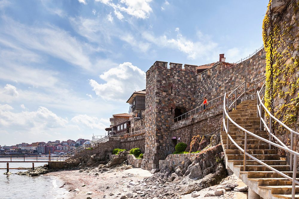 Byzantine wall of Sozopol
