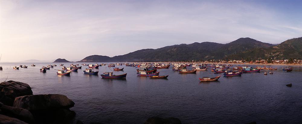 Dai Lanh fishing village near Nha Trang.