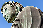 Daibutsu statue, the Great Buddha at Kamakura Japan