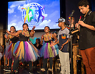 A band and dancers from South Africa performed at the World&rsquo;s Children&rsquo;s Prize Ceremony 2015.Most of the members of the band come from Khayelitsha in Cape Town, where tens of thousands of youth in this high crime townships have no permanent homes. The band members are students at the Chris Hani School where the World&rsquo;s Children&rsquo;s Prize program is implemented annually and the band members and other students are trained as WCP child rights ambassadors. Band members are: Unathi Makhambi, Andreas Coxson, Zhakona Gina, Bongo Hatana, Reece Chloe Lewis, Busisiwe Maswana, Siko Akin Nkonyana, Olivia Winberg and Busiswa Zingitwa. Director: Shen Winberg. Photo: Sofia Marcetic/World's Children's Prize<br /> <br /> Since the year 2000, the World&rsquo;s Children&rsquo;s Prize program has educated and empowered over 38 million children. It&rsquo;s the world&rsquo;s largest annual educational initiative for equality, the rights of the child and democracy. The program is run annually in schools worldwide. Each year, three out&not;standing child rights heroes are selected by the Child Jury as candidates for the World&rsquo;s Children&rsquo;s Prize for the Rights of the Child.  The three candidates are then presented to the world&rsquo;s children through  the WCP magazine The Globe, video, web and social media. Tens of thousands of volunteers and organisations help to implement the WCP program every year, including at least 50,000 teachers and over a hundred organisations, social enterprises and departments of education. Over 67,000 schools in 113 countries have signed up for the WCP.<br />     The WCP program concludes with an annual Global Vote in which millions of children vote to elect their child rights hero of the Year. The majority of children who participate are vulnerable, such as former child soldiers and child slaves. Three global legends have got behind the WCP as patrons: Nelson Mandela, Aung San Suu Kyi, and Xanana Gusm&atilde;o. Other patrons include H.M. Queen Silvia of Sweden, Gra&ccedil;a Machel and Desmond Tutu.<br />    T