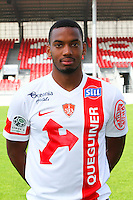 Johan MARTIAL - 08.09.2014 - Photo officielle Brest - Ligue 2 2014/2015<br /> Photo : Maxime Kerriou / Icon Sport