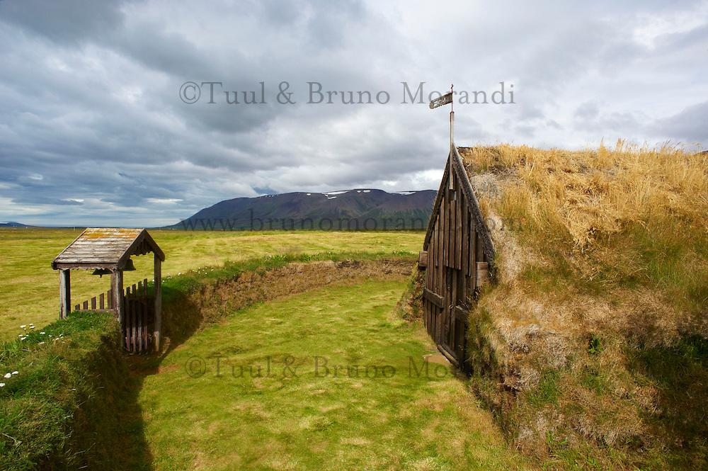 Islande, eglise de Grof // Iceland, Grof church
