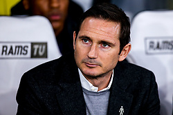 Derby County manager Frank Lampard - Mandatory by-line: Robbie Stephenson/JMP - 17/12/2018 - FOOTBALL - Pride Park Stadium - Derby, England - Derby County v Nottingham Forest - Sky Bet Championship