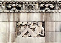 Architectural Details of Buildings in Cincinnati Ohio