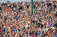 EINDHOVEN - Publiek tijdens de mannen hoofdklasse hockey finale tussen Oranje-Zwart en Bloemendaal (3-2). OZ wint het landskampioenschap. KOEN SUYK/KNHB