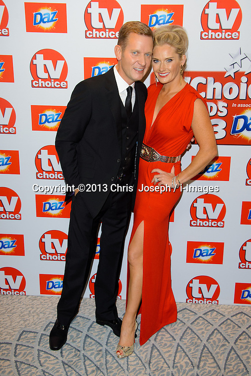 TV Choice Awards 2013 - London.<br /> Jeremy Kyle arriving at the TV Choice Awards 2013, The Dorchester Hotel, London, United Kingdom. Monday, 9th September 2013. Picture by Chris  Joseph / i-Images