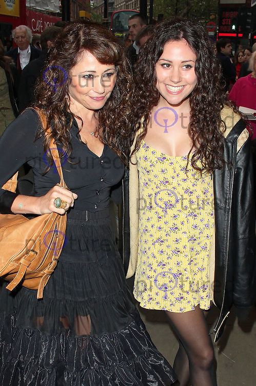 LONDON - MAY 18: Frances Rufelle & Eliza Doolittle at the Press Night for Abigail's Party at Wyndham's Theatre