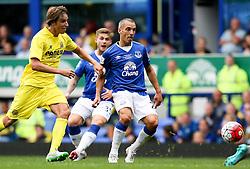 Everton's Leon Osman in action - Mandatory by-line: Matt McNulty/JMP - 02/08/2015 - SPORT - FOOTBALL - Liverpool,England - Goodison Park - Everton v Villareal - Pre-Season Friendly