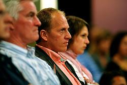 08-05-2009 ALGEMEEN: AMBASSADEURS OS 2010 VANCOUVER: ARNHEM<br /> NOC*NSF heeft vandaag tijdens een teambijeenkomst op Papendal met alle potentiele sporters voor Vancouver met trots de ambassadeurs van het Nederlands Olympisch Team en het Nederlands Paralympisch Team voor de spelen van Vancouver 2010 gepresenteerd / Ireen Wust en Rintje Ritsma<br /> ©2009-WWW.FOTOHOOGENDOORN.NL