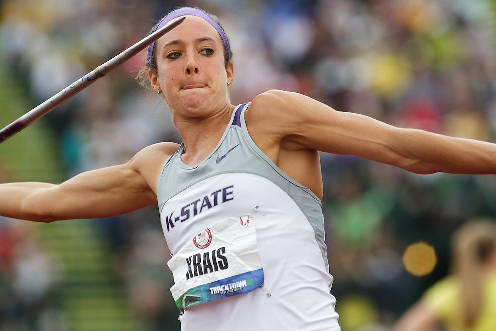 Olympic Trials Eugene 2012: Heptathlon, Javelin, Krais