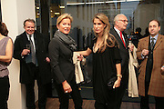Sylvia Sperk and Nina Peter, Andreas Gursky.Spruth Magers Gallery. Grafton St. London. 22 March 2007.   -DO NOT ARCHIVE-© Copyright Photograph by Dafydd Jones. 248 Clapham Rd. London SW9 0PZ. Tel 0207 820 0771. www.dafjones.com.