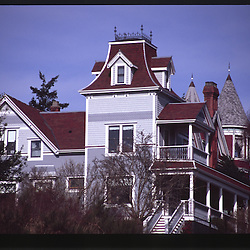 Victorian Residence, Port Townsend, Olympic Peninsula, Washington, US