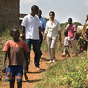 Helene Gayle, President and CEO of CARE visits projects in Siaya district in Western Kenya during a Learning Tours trip to Kenya.