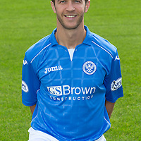 St Johnstone FC 2014-2015 Season Photocall..15.08.14<br /> Chris Millar<br /> Picture by Graeme Hart.<br /> Copyright Perthshire Picture Agency<br /> Tel: 01738 623350  Mobile: 07990 594431