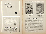 All Ireland Senior Hurling Championship Final,.Programme,.05.09.1954, 09.05.1954, 5th September 1954,.Cork 1-9, Wexford 1-6,.Minor Dublin v Tipperary, .Senior Cork v Wexford,.Croke Park,..Advertisments, New Ireland Assurance Company Ltd, Another Point!,.