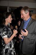ISABEL FONSECA AND JULIAN BARNES, party to celebrate the 100th issue of Granta magazine ( guest edited by William Boyd.) hosted by Sigrid Rausing and Eric Abraham. Twentieth Century Theatre. Westbourne Gro. London.W11  15 January 2008. -DO NOT ARCHIVE-© Copyright Photograph by Dafydd Jones. 248 Clapham Rd. London SW9 0PZ. Tel 0207 820 0771. www.dafjones.com.