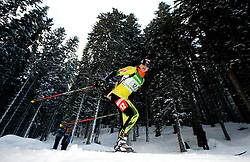 Jana Gerekova of Slovakia during the Mixed 2x6 + 2x7,5km relay of the e.on IBU Biathlon World Cup on Saturday, December 19, 2010 in Pokljuka, Slovenia. The fourth e.on IBU World Cup stage is taking place in Rudno polje - Pokljuka, Slovenia until Sunday December 19, 2010. (Photo By Vid Ponikvar / Sportida.com)