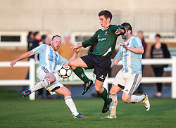 Edinburgh University&rsquo;s Fraser Thomas. <br /> Edinburgh University 2 v 3 Gala Fairydean Rovers, Scottish Sun Lowland League game played 15/11/2014 at Peffermill Playing Fields.